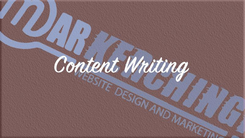 Markerching Services: Content Writing Service and engaging copy