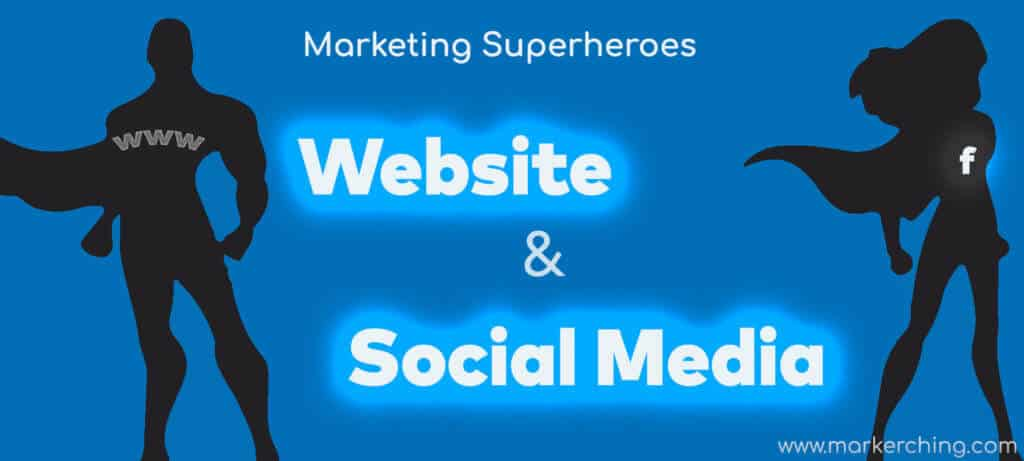 Website v Social Media. Which is best for your Small Business
