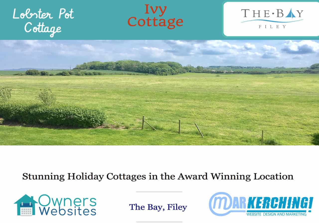 Holiday Home By Owners Websites, the web agency for UK holiday cottages